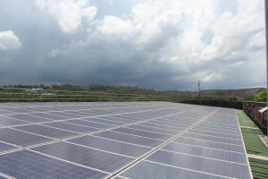 First Large Scale Grid-Connected Solar Project in Cambodia, the Don Bosco Technical school in Sihanoukville.